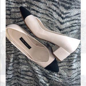 Zara basic block heel